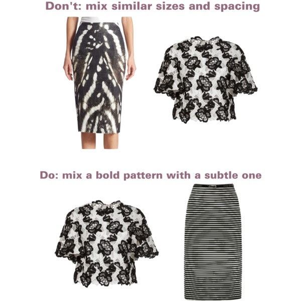 How to mix patterns.Scales